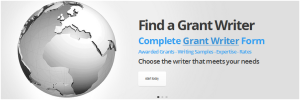 Request a grantwriter